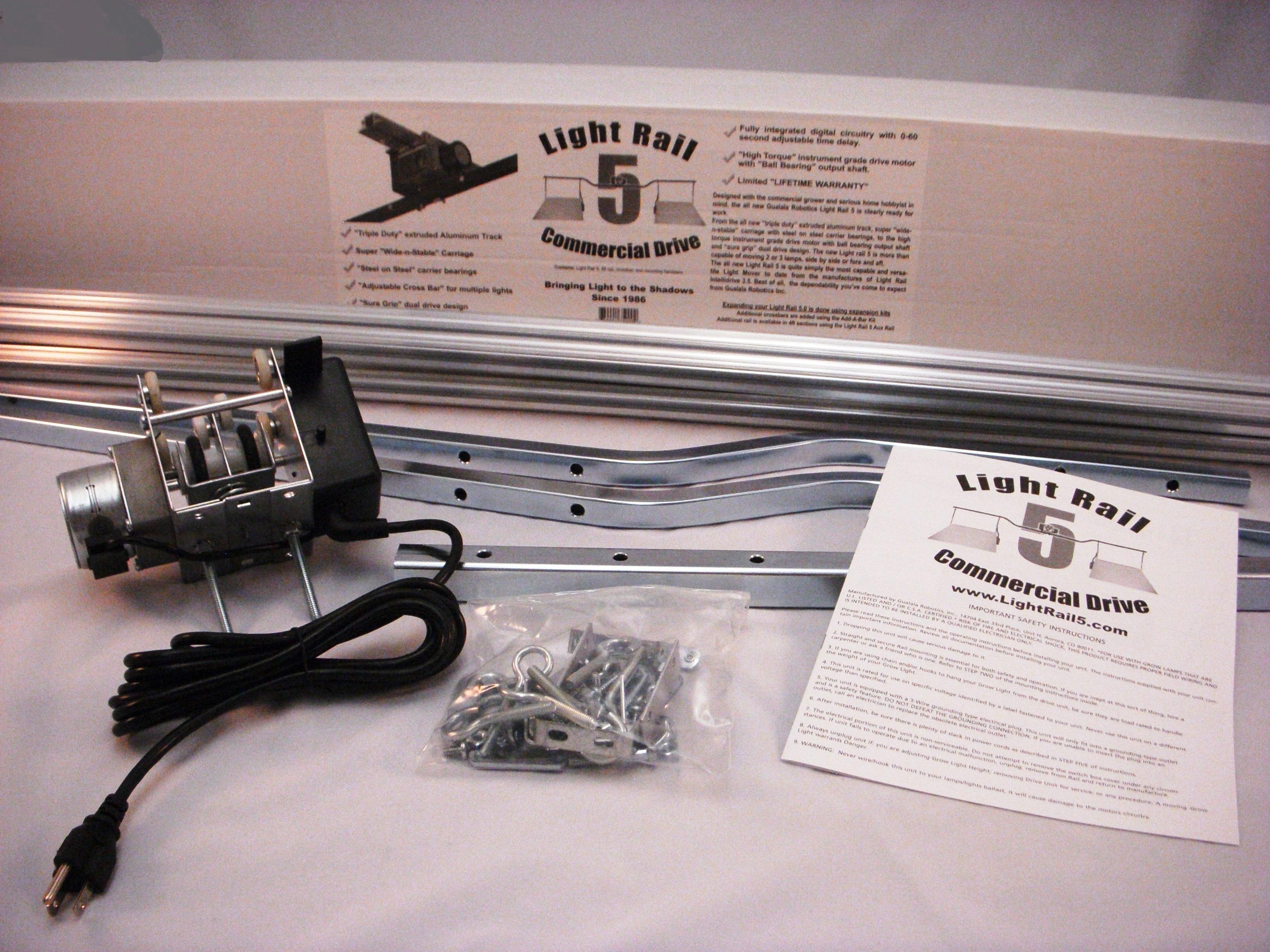 Light Rail 5 Motor Crossbar 8 Toledo Indoor Garden Home Wiring Outlet Height